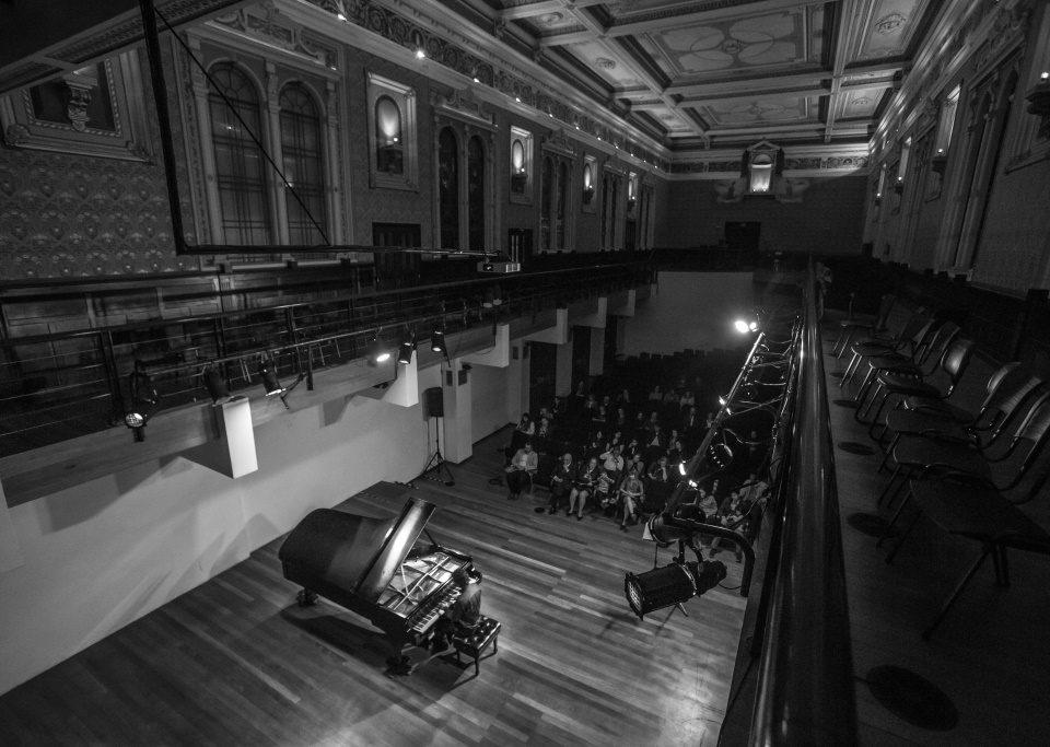 X Concurso de Piano professora Edna Bassetti Habith, na Capela Santa Maria. O pianista Jairo Batista Thiersch fez o recital de abertura. 21/08/2014 Foto: Brunno Covello